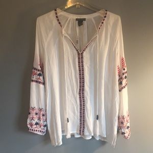 NWT Chelsea & Theodore Flowing Shirt